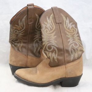 Laredo Mens Distressed Leather Western Cowboy Boot